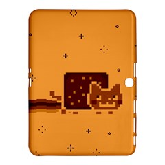 Nyan Cat Vintage Samsung Galaxy Tab 4 (10 1 ) Hardshell Case  by Onesevenart