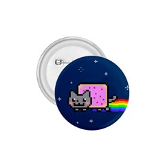 Nyan Cat 1 75  Buttons by Onesevenart