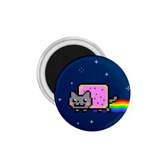 Nyan Cat 1 75  Magnets by Onesevenart