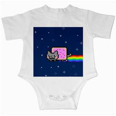 Nyan Cat Infant Creepers by Onesevenart
