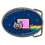 Nyan Cat Belt Buckles