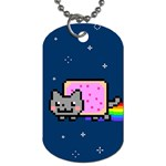 Nyan Cat Dog Tag (One Side)