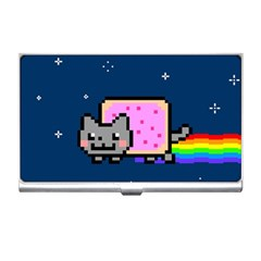 Nyan Cat Business Card Holders by Onesevenart