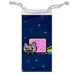Nyan Cat Jewelry Bags by Onesevenart
