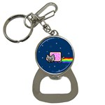 Nyan Cat Bottle Opener Key Chains