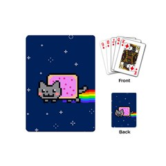 Nyan Cat Playing Cards (mini)  by Onesevenart