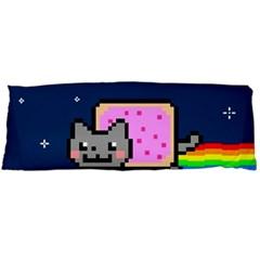 Nyan Cat Body Pillow Case Dakimakura (two Sides) by Onesevenart