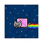 Nyan Cat Acrylic Tangram Puzzle (6  x 6 )