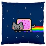 Nyan Cat Large Cushion Case (One Side)