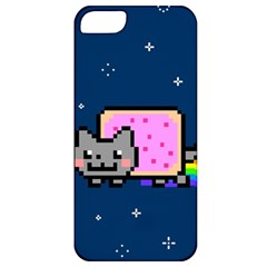 Nyan Cat Apple Iphone 5 Classic Hardshell Case by Onesevenart