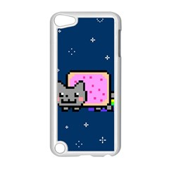 Nyan Cat Apple Ipod Touch 5 Case (white) by Onesevenart