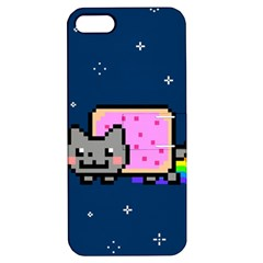 Nyan Cat Apple Iphone 5 Hardshell Case With Stand by Onesevenart