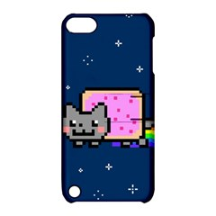 Nyan Cat Apple Ipod Touch 5 Hardshell Case With Stand by Onesevenart