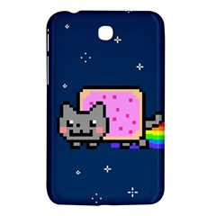 Nyan Cat Samsung Galaxy Tab 3 (7 ) P3200 Hardshell Case  by Onesevenart