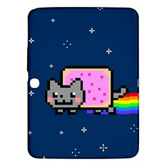 Nyan Cat Samsung Galaxy Tab 3 (10 1 ) P5200 Hardshell Case  by Onesevenart