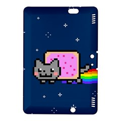 Nyan Cat Kindle Fire Hdx 8 9  Hardshell Case by Onesevenart