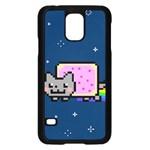 Nyan Cat Samsung Galaxy S5 Case (Black)