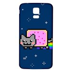 Nyan Cat Samsung Galaxy S5 Back Case (White)