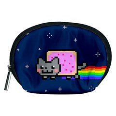 Nyan Cat Accessory Pouches (medium)  by Onesevenart