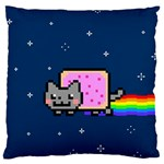 Nyan Cat Standard Flano Cushion Case (One Side)