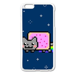 Nyan Cat Apple Iphone 6 Plus/6s Plus Enamel White Case by Onesevenart