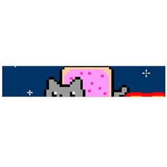 Nyan Cat Flano Scarf (large) by Onesevenart