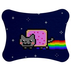 Nyan Cat Jigsaw Puzzle Photo Stand (bow) by Onesevenart