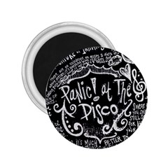 Panic ! At The Disco Lyric Quotes 2 25  Magnets by Onesevenart