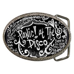Panic ! At The Disco Lyric Quotes Belt Buckles by Onesevenart