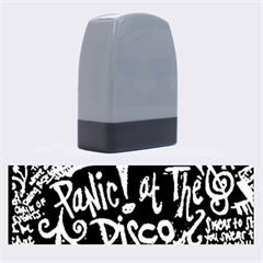 Panic ! At The Disco Lyric Quotes Name Stamps by Onesevenart
