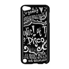 Panic ! At The Disco Lyric Quotes Apple Ipod Touch 5 Case (black) by Onesevenart