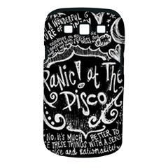 Panic ! At The Disco Lyric Quotes Samsung Galaxy S Iii Classic Hardshell Case (pc+silicone) by Onesevenart
