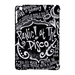 Panic ! At The Disco Lyric Quotes Apple Ipad Mini Hardshell Case (compatible With Smart Cover) by Onesevenart