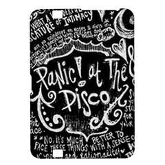 Panic ! At The Disco Lyric Quotes Kindle Fire Hd 8 9  by Onesevenart
