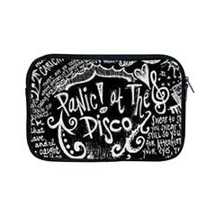 Panic ! At The Disco Lyric Quotes Apple Ipad Mini Zipper Cases by Onesevenart