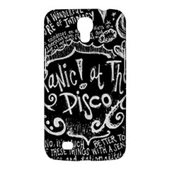 Panic ! At The Disco Lyric Quotes Samsung Galaxy Mega 6 3  I9200 Hardshell Case by Onesevenart