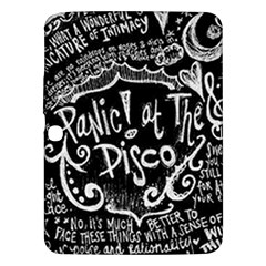 Panic ! At The Disco Lyric Quotes Samsung Galaxy Tab 3 (10 1 ) P5200 Hardshell Case  by Onesevenart