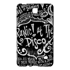 Panic ! At The Disco Lyric Quotes Samsung Galaxy Tab 4 (8 ) Hardshell Case  by Onesevenart