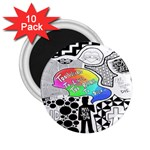 Panic ! At The Disco 2.25  Magnets (10 pack)