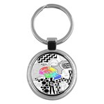 Panic ! At The Disco Key Chains (Round)
