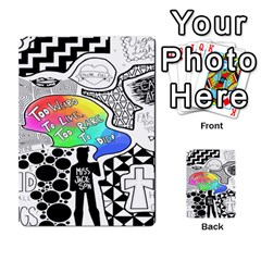 Panic ! At The Disco Multi Purpose Cards (rectangle)  by Onesevenart