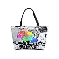 Panic ! At The Disco Shoulder Handbags by Onesevenart