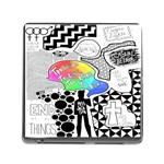 Panic ! At The Disco Memory Card Reader (Square)