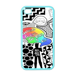 Panic ! At The Disco Apple Iphone 4 Case (color) by Onesevenart