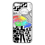 Panic ! At The Disco Apple iPhone 5 Case (Silver)