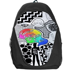 Panic ! At The Disco Backpack Bag by Onesevenart