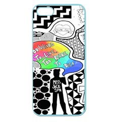 Panic ! At The Disco Apple Seamless Iphone 5 Case (color) by Onesevenart