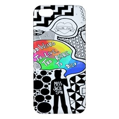 Panic ! At The Disco Iphone 5s/ Se Premium Hardshell Case by Onesevenart