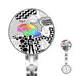 Panic ! At The Disco Stainless Steel Nurses Watch