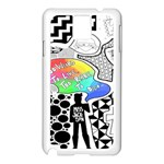 Panic ! At The Disco Samsung Galaxy Note 3 N9005 Case (White)